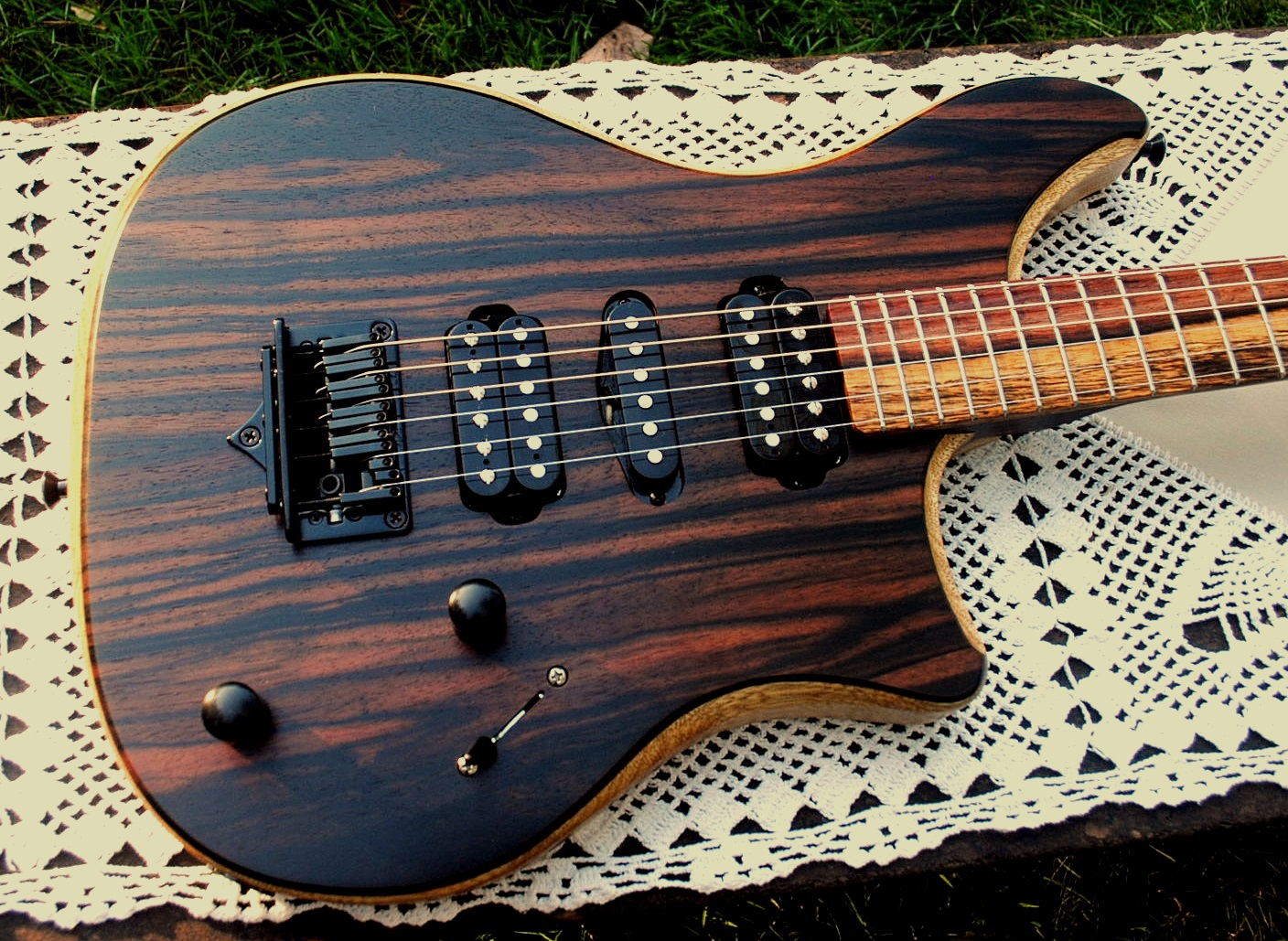 Did Macassar ebony guitar suggest you